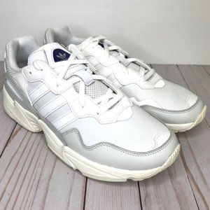 ADIDAS Yung-96 Cloud White Grey Sneakers Size 11.5